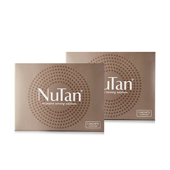 2 Boxes NuTan Tanning Patches (20 Patches / 10 Sachets)